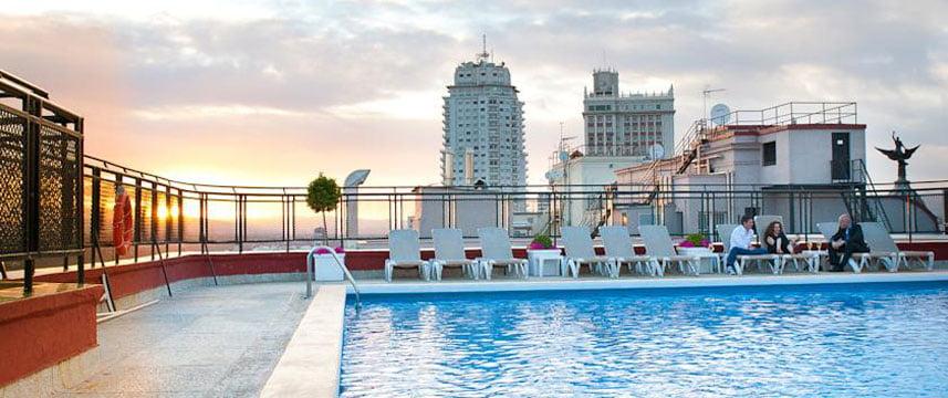 Hotel emperador de madrid hoteles con encanto - Piscina hotel emperador ...